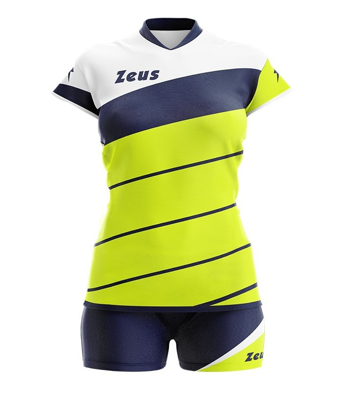 Zeus Kit Lybra woman yellow fluo navy
