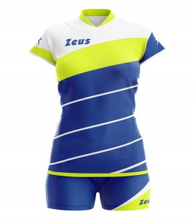 Zeus Kit Lybra woman royal yellow fluo