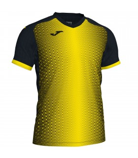 Joma Shirt Supernova Black-Yellow