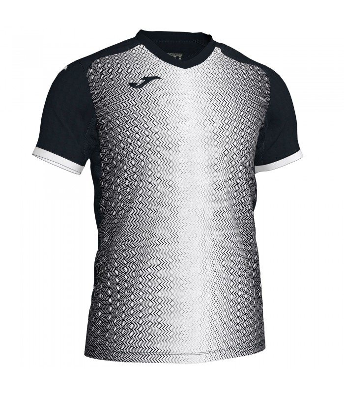 9aa23eaae00 V-neck t-shirt made of base fabric. With a mesh piece in the lower portion  of the sleeves and the armpits for improved breathability.